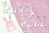 Bunny Butt Font Duo example image 1