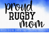 Rugby Mom SVG, Sports SVG example image 1
