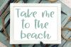 Aloha Summer - A Summery Hand-Written Font example image 4