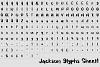 Jackson Font example image 3