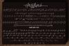 Frayhord Monoline Script example image 9