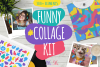 Funny Collage Kit example image 1