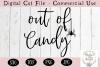 Out Of Candy SVG, Halloween SVG, Digital Cutting File example image 2