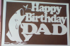 Happy birthday DAD papercutting templates|PNG/PDF/SVG/DXF example image 2