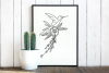 Humming bird svg, birds fly, instant download, cut file example image 2