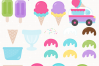 The Ultimate Ice Cream Clipart Pack example image 2
