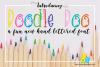 DoodleDoo Font example image 1