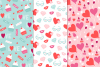 12 Valentine Seamless Patterns example image 5