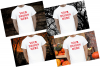 Halloween and Fall Men t-shirt Mockup Bundle, Colored T's example image 5