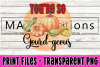 You're so Gourd-Geous - Print File example image 1