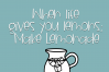 Blueberry Lemonade - A Fun Handwritten Font example image 5
