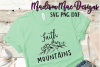 Faith Can Move Mountains  Christian SVG example image 2