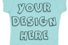 Toddler Gilrs Flat Jersey T Shirt Mockups - 17 example image 5
