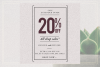 GRUNGE Social media sale banner pack example image 9