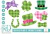 Buffalo Plaid St Patrick's Day Bundle SVG, DXF, AI, EPS, PNG example image 1