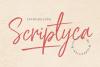 Scriptyca | Script Brush Font example image 1