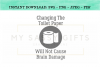 Changing The Toilet Paper Funny Bathroom SVG Graphic example image 1