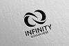 Infinity loop logo Design 26 example image 4