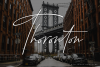 Baltimore // Straight Signature Font example image 6