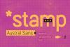 Austral Sans Stamp example image 1