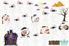 Mummy Girls Clipart, Instant Download Vector Art example image 2