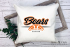 Bear, Bear Basketball, Sport, Design, PRINT, CUT, DESIGN example image 3