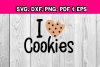 I love cookies - chocolate chip cookie - little kids diy example image 1
