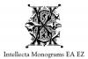 Intellecta Monograms EA EZ example image 3
