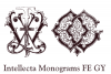 Intellecta Monograms FE GY example image 2