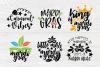 Mardi Gras SVG Bundle | 20 Funny Mardi Gras Quotes example image 3