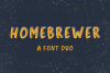 Homebrewer Sans and Outline Font Duo example image 1