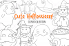 Cute Halloween Digital Stamps example image 1