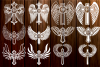 Cross with Wings SVG, Cross Svg, Angel Wings, Circle Frames example image 1