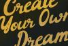 Barney Vintage Style Script Font example image 2