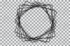 Geometric lineal black frames decor clip art. Wedding border example image 30