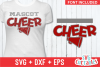 Cheer Template 0021, SVG Cut File example image 1