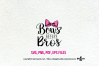 Bows Before Bros / svg ,eps, png file example image 2
