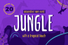 Jungle - Decorative Sans Serif example image 1