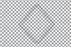 Geometric lineal black frames decor clip art. Wedding border example image 11