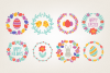 Easter Wreaths and Patterns example image 2