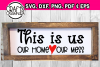 This is us. Our home. Our mess example image 1