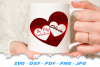 Valentines Day Hearts SVG DXF Cut Files Bundle example image 4