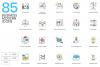 1266 Icons - colorPOP Vector Bundle example image 3