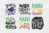 Mardi Gras Quotes | Cut Files for Crafters | Mardi Gras SVG example image 5