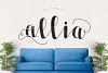 Allia Typeface example image 1
