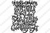 Ghosts and Goblins - Handdrawn Halloween Quote - SVG/PNG example image 2