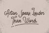 Retroville Monoline Typeface - Script Font example image 5