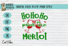 BUNDLE Joy to the wine, Merlot Christmas, WIne Xmas - SVG example image 4