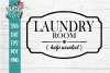 Laundry Room Help Wanted Funny Farmhouse SVG example image 2