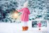 30 Christmas Photo overlays, photoshop overlays, Lamp light example image 2